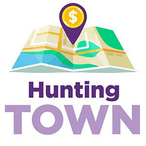 Logo de Hunting Town