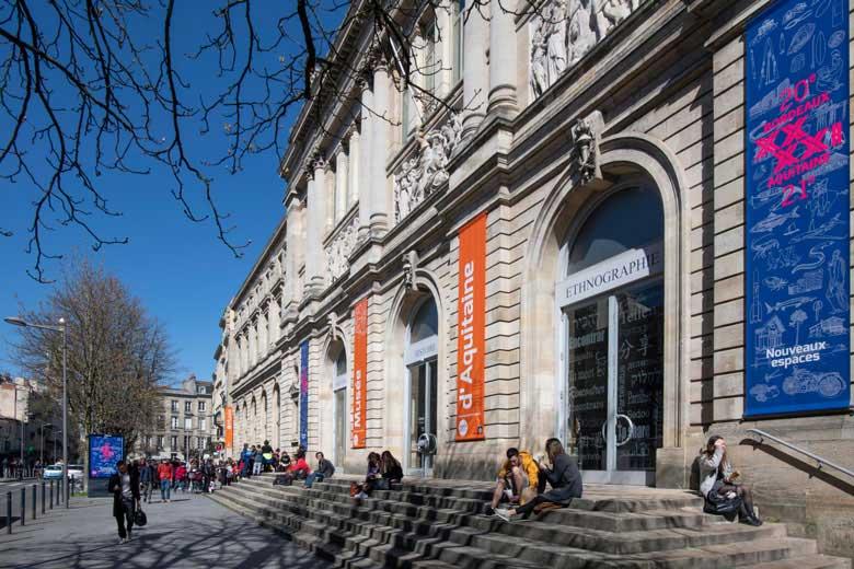 facade musée d'aquitaine